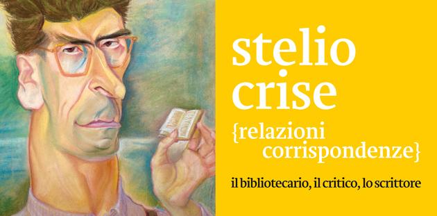 L'invito della mostra dedicata a Stelio Crise