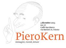 Piero Kern, caricatura di Dino Tamburini