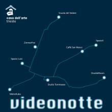La prima Videonotte a Trieste