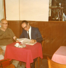 Giorgio Voghera e Piero Kern, 1977