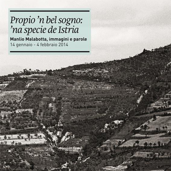 Un panorama fotografato da Montona, in Istria.