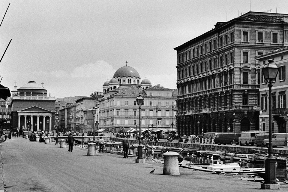 Il Canale di Ponterosso, 1978, foto di Romano Grozić