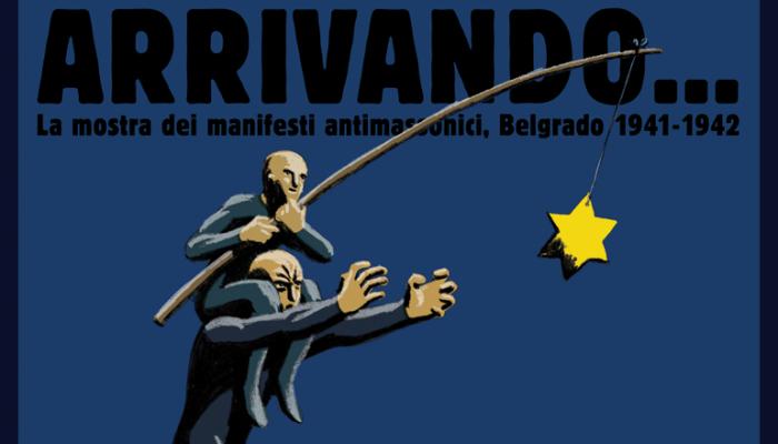 Il manifesto della mostra, design Mirko Ilić