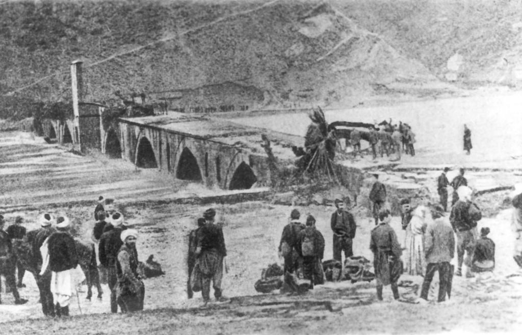 01_Most na Drini - Visegrad 1896 posle poplave