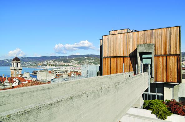 Le terrazze del Museo Revoltella