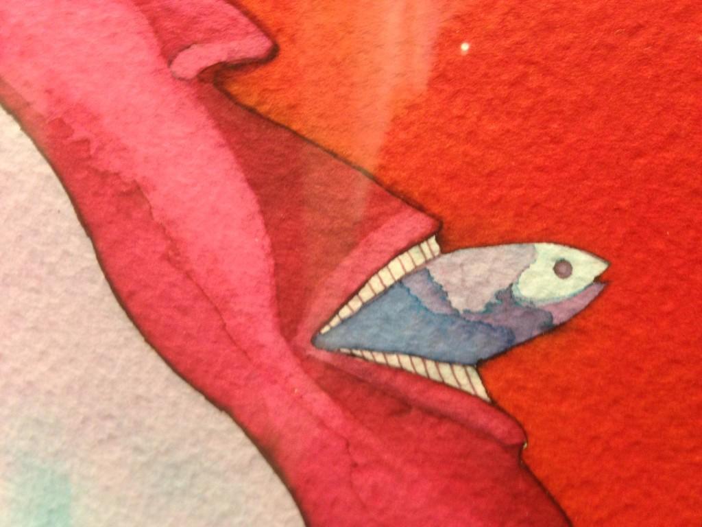 """Un dettaglio di """"Sirene"""" di Ugo Pierri."""