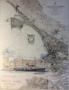 Lorenza Fonda, Nautical Charts Sketches