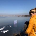 Martina Vocci documenta i primi momenti dell'installazione